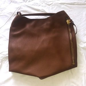 Tom Ford Large Brown Alix Tote Bag